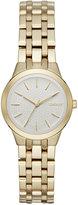 DKNY Women's Park Slope Gold-Tone Stainless Steel Bracelet Watch 28mm NY2491