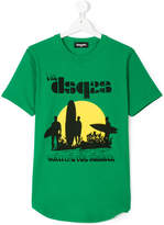 DSQUARED2 surf print T-shirt