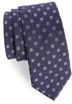 The Tie Bar Men's Medallion Scene Silk & Linen Tie