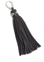 Etienne Aigner Long Pebbled Tassel Key Fob