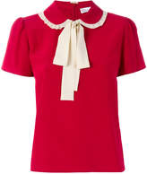RED Valentino pussy bow collar T-shirt