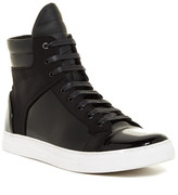 Kenneth Cole New York Double Up Patent Leather High Top Sneaker