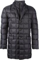 Fay double collar padded coat