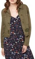Sanctuary Women's Lieutenant Crop Military Jacket