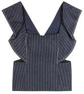 3.1 Phillip Lim Striped Linen Top