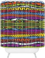 DENY Designs Karen Harris Wavelength Island Chic Shower Curtain, 69-Inch by 72-Inch