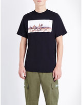 Billionaire Boys Club Hunt In Space Cotton-jersey T-shirt
