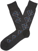 Perry Ellis Quest Mercerized Cotton Sock