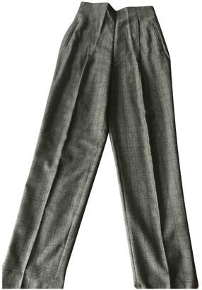 Romeo Gigli Multicolour Wool Trousers for Women