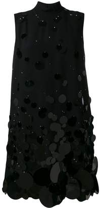 Prada sequin shift dress