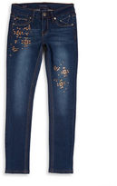 Vigoss Girls 7-16 Embellished Skinny Jeans