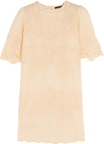 Isabel Marant Ruthel embroidered ramie mini dress