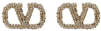 Valentino VLOGO crystal stud earrings