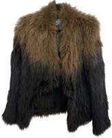 Yves Salomon Blue Fox Jacket for Women