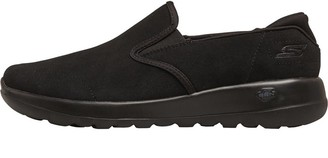 Skechers Womens GOwalk Joy Predict Trainers Black/Black