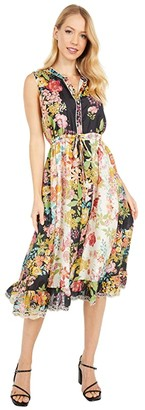Johnny Was Serena Dress Lined (Multi) Women's Clothing
