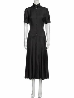 Alexander McQueen Vintage Long Dress Grey