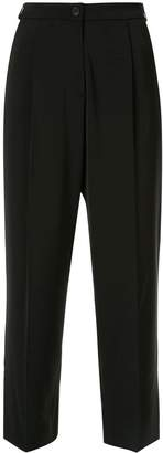 Anteprima cropped straight-leg trousers
