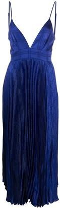 FEDERICA TOSI Pleated Midi Dress