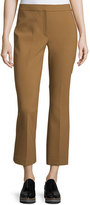 Theory Erstina Pioneer Cropped Pants, Vicuna