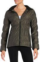 Calvin Klein Ribbed Puffer Jacket