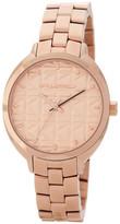 Karl Lagerfeld Women&s Kuilted Bracelet Watch