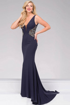 Jovani Sexy Jersey Prom Dress 49947