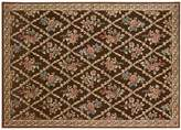 Kathy Ireland Villa Retreat Washington Estate Floral Trellis Rug