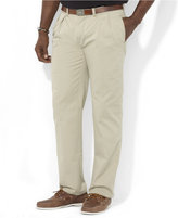 Polo Ralph Lauren Men's Big and Tall Pants, Ethan Classic-Fit Pleated Chino Pants