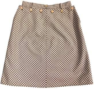 Valentino Beige Silk Skirts