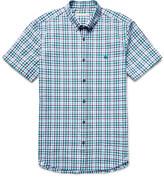 Burberry - Brit Slim-fit Checked Cotton-seersucker Shirt