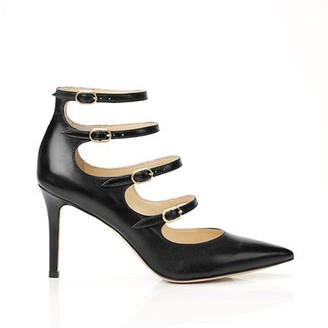Marion Parke Mitchell Black Strappy Mary Jane Stiletto Pump
