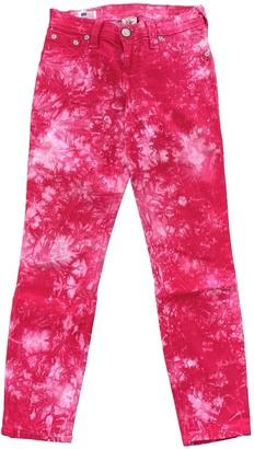 True Religion Multicolour Cotton - elasthane Jeans for Women