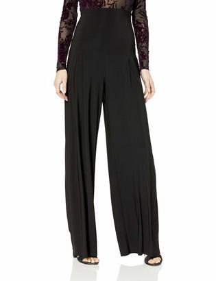 Norma Kamali Women's HIGH Waist Pleated Pant