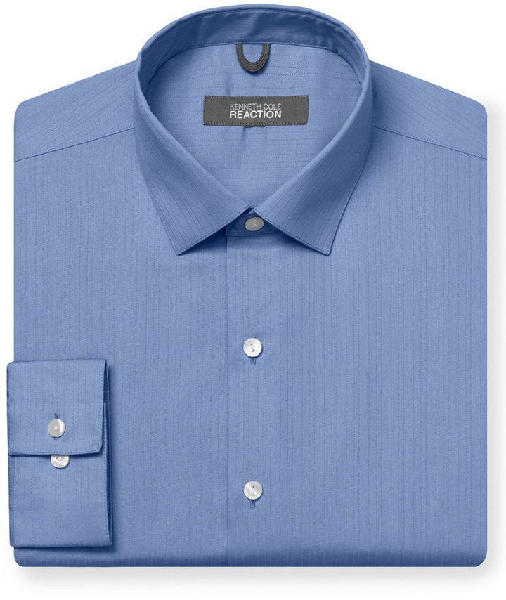 Kenneth Cole Reaction Tonal Stripe Dress Shirt
