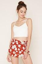 Forever 21 FOREVER 21+ Floral Mini Skirt
