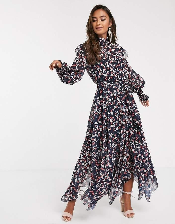 Keepsake charmed long sleeve midi dress