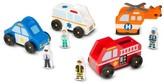Melissa & Doug Toddler Emergency Vehicles Set