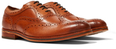 Hudson Keating Calf Brogue Tan