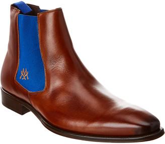 Mezlan Leather Chelsea Boot