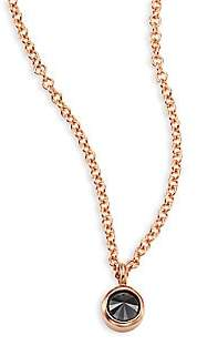Black Diamond Zoe Chicco Women's & 14K Rose Gold Choker