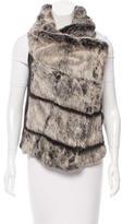 Helmut Lang Fur & Leather Vest