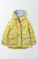 Girl's Mini Boden Hooded Raincoat