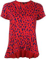 Proenza Schouler leopard printed T-shirt - women - Cotton - M