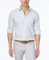 Alfani Men's Ombré Dot Long-Sleeve Shirt, Only at Macy's