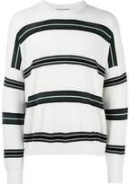 Ami Alexandre Mattiussi striped boxy sweater