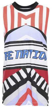 P.E Nation Printed Cotton-jersey Top