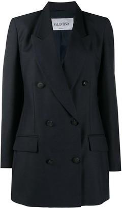 Valentino Oversized Double-Breasted Blazer