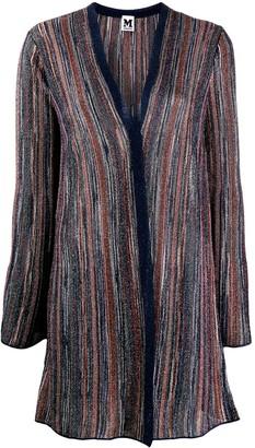 M Missoni metallic striped cardigan