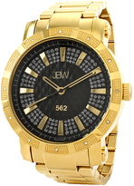 JBW Black & Gold 562 Bracelet Watch - Men